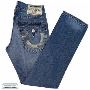True Religion Camo Pocket Straight Men's Jeans